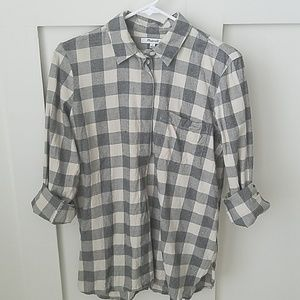 Madewell Classic Ex Boyfriend Button Back Shirt